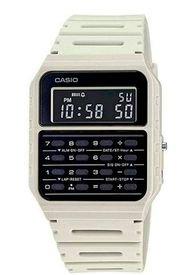 Reloj Digital Calculadora Blanco Casio