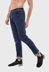 Jeans Hombre Slim Azul Soviet