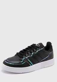 Zapatilla Negra Adidas Originals Supercourt W