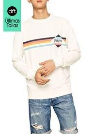 Buzo Blanco-Multicolor Pepe Jeans