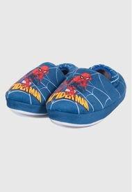 Pantufla Telaraña Azul Spiderman Marvel