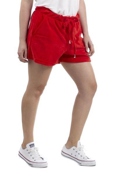 Overtraining Shorts Overtraining Plush Vermelho Vybqu