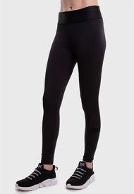 Legging Everlast Long Band Basic Two Negro - Calce Ajustado