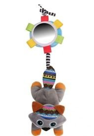 Sonajero Musical Mapache Biba Toys