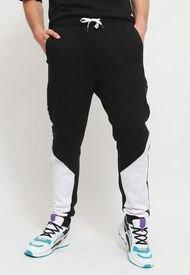 Jogger Kappa Negro - Calce Regular