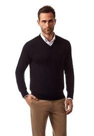 Sweater Angers Nm Negro New Man