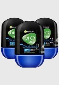Pack 3 Desodorante Olor Block Garnier BIO