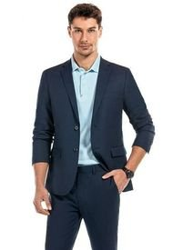 Blazer Suit Rome Azul New Man