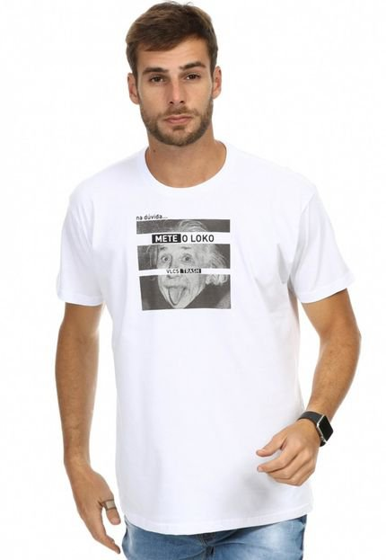 Camiseta VLCS Trash Gola Careca Branca