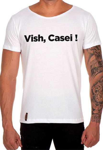 Camiseta Lucas Lunny T Shirt Gola Canoa Vish Casei