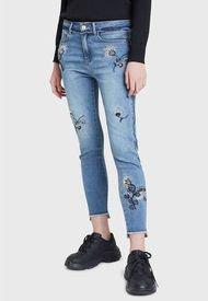 Jeans Desigual Azul - Calce Regular