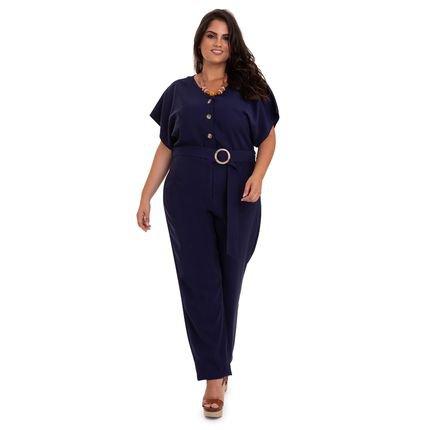 V&Z Fashion Plus Macacão Longo Plus Size-50 oHsxJ