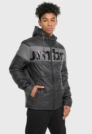Parka Umbro Padded Jacket Negro - Calce Regular