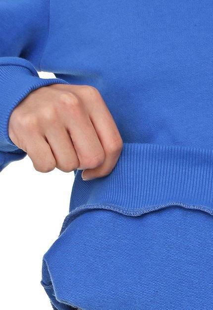 Coca-Cola Jeans Moletom Fechado Coca-Cola Jeans Logo Azul Q1IOs