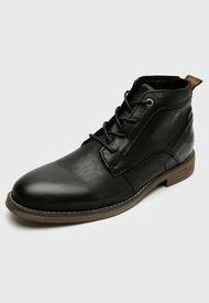 Zapato Casual Cuero Negro Jarman