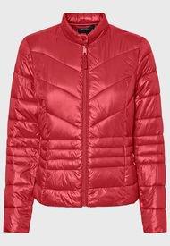 Parka Vero Moda Corta Rojo - Calce Ajustado