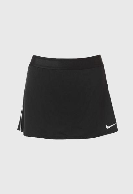 Saia Nike Curta W Nkct Dry Skirt Str Preta