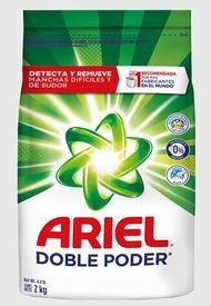 Detergente  Ariel detergente polvo regular 2kg  Multicolor Ariel