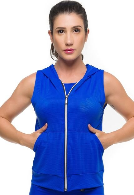 Sandy Fitness Colete Sandy Fitness Maxx Air Azul IxWty