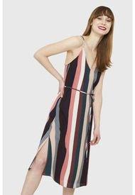 Vestido Rayas Pabilo Multicolor Nicopoly