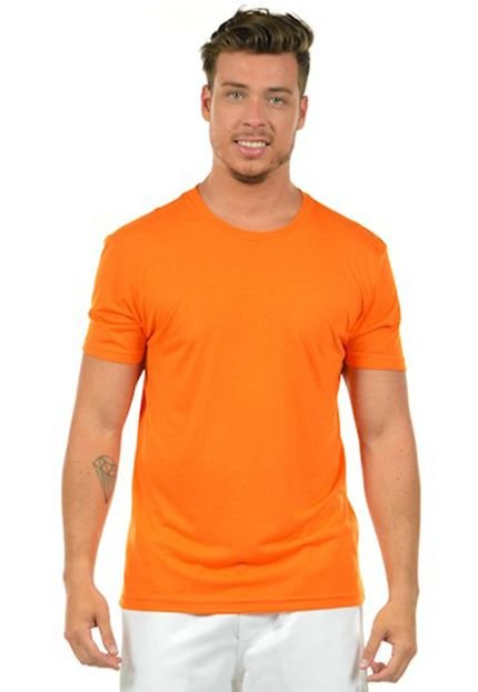 Camiseta Urbania Malha Fria Laranja