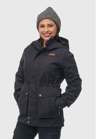 Chaqueta Waterproof Mujer Andorra Negra Aparso