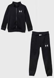 Conjunto Under Armour Niño UA Knit Track Suit- Negro - Calce Regular