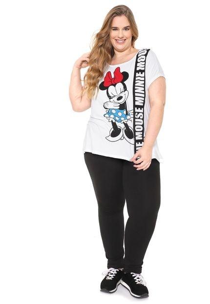 Cativa Disney Plus Blusa Cativa Disney Plus Minnie Mouse Branca