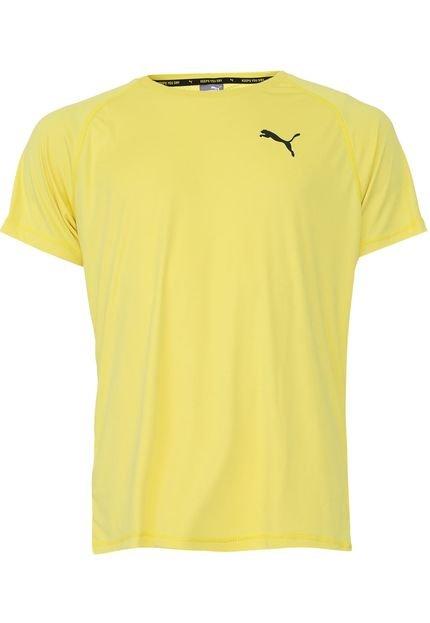 Camiseta Puma Rtg Amarela