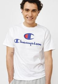 Polera Champion Classic Graphic Tee Blanco - Calce Regular