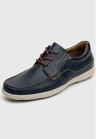 Zapato Hombre Barbados Azul Flexi