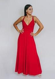 Vestido Zara Rojo Italiano Natalia Seguel