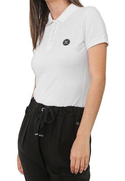 Colcci Camisa Polo Colcci Lisa Off-White WG9w2