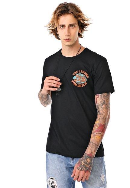 Camiseta Von Dutch Legend Preta