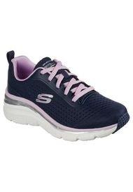 Zapatilla Fashion Fit Azul Skechers