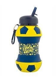 Botella  Flexible Footy Pelota Azul Amarillo 0 24399