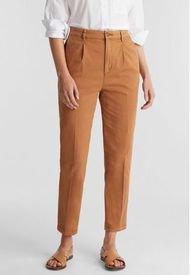 Pantalón Chino Con Algodón Ecológico Marrón Esprit