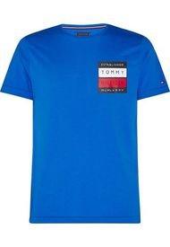 Polera Rwb Square Azul Tommy Hilfiger