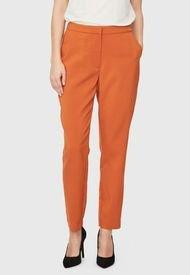 Pantalón Vero Moda Naranjo - Calce Ajustado