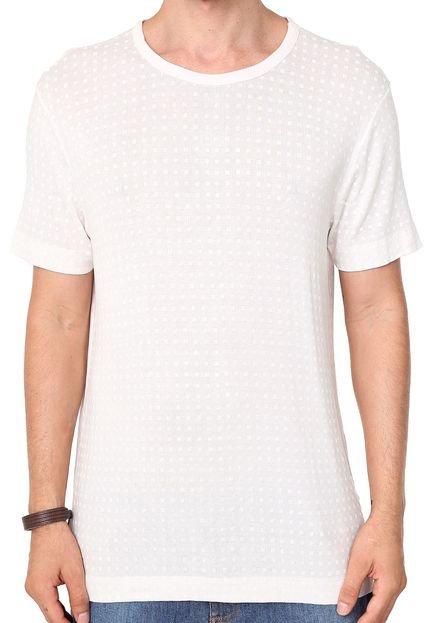 Camiseta Forum Quadriculada Off-white