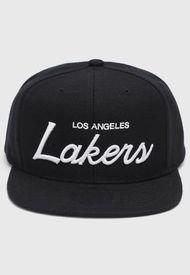 Jockey  Los Angeles Lakers Negro Mitchell & Ness