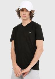 Camiseta Negro Lacoste