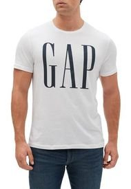Camiseta Blanco-Azul GAP