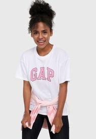 Camiseta Blanco-Rosa GAP