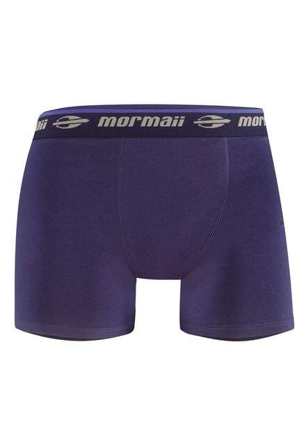 Cueca Boxer em Algodão Mormaii - QE56331X01 - Azul Marinho