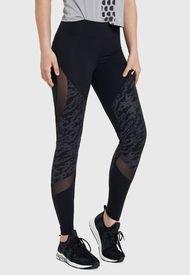 Legging Desigual MESH TONE WINTER  Negro - Calce Ajustado