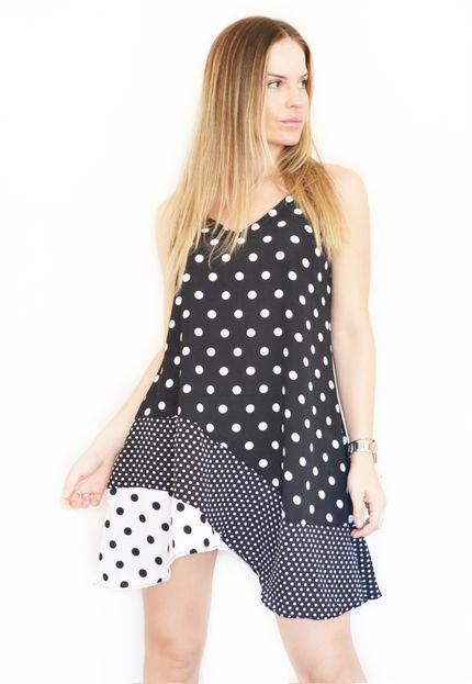CZ Brand Vestido Slip Dress CZ Brand Crepe Poá. 0tyJI