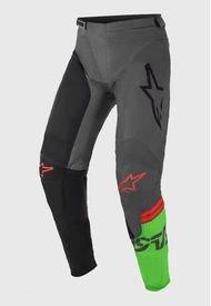 Pantalon Racer Compass 2021 Negro/Verde Alpinestars