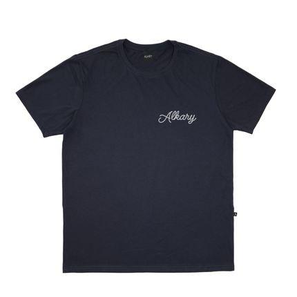 Camiseta Alkary Âncora Chumbo