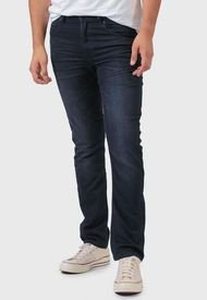 Jeans Wrangler Greensboro Azul - Calce Ajustado